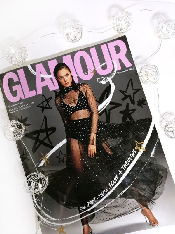 December Glamour issue, Sanda Vidmar feature