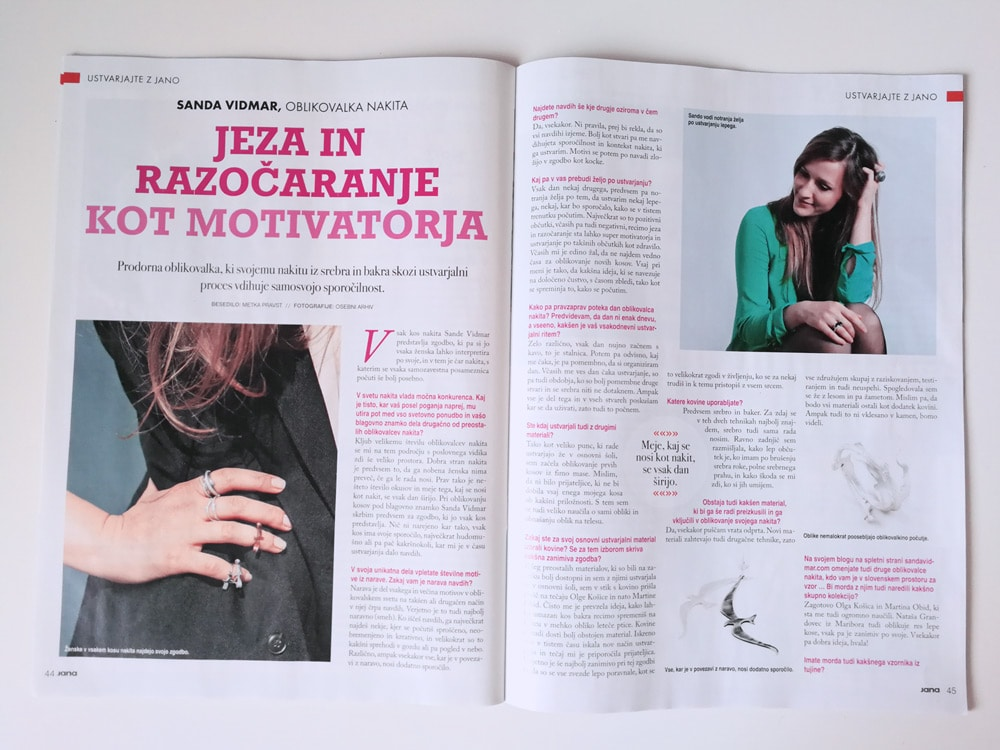 Magazine Interview about us