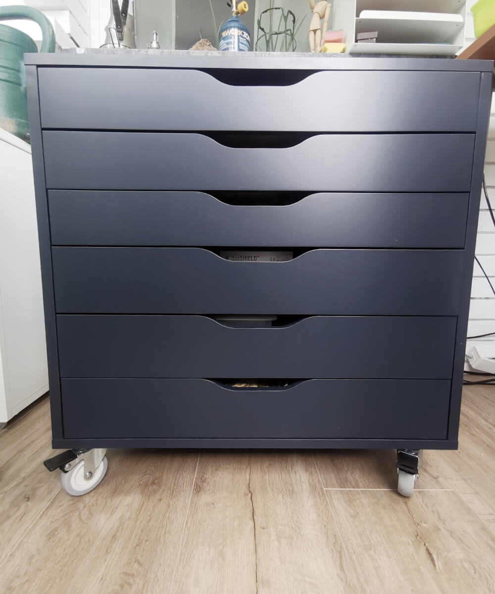 Ikea tiel drawer closet