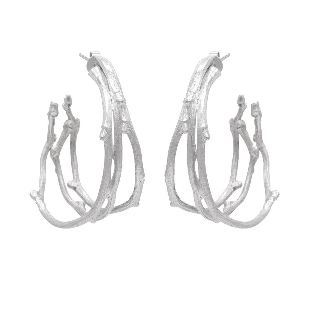 Twigs earrings extravagant set alike