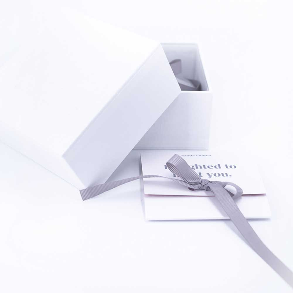 Every delivery includes a handmade packaging