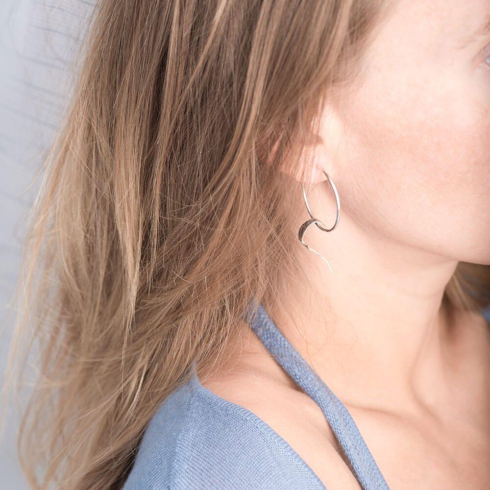 Unique set of birds earrings