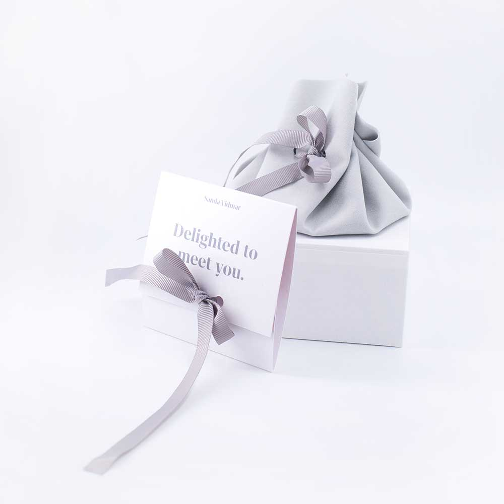Branded jewlery packaging set