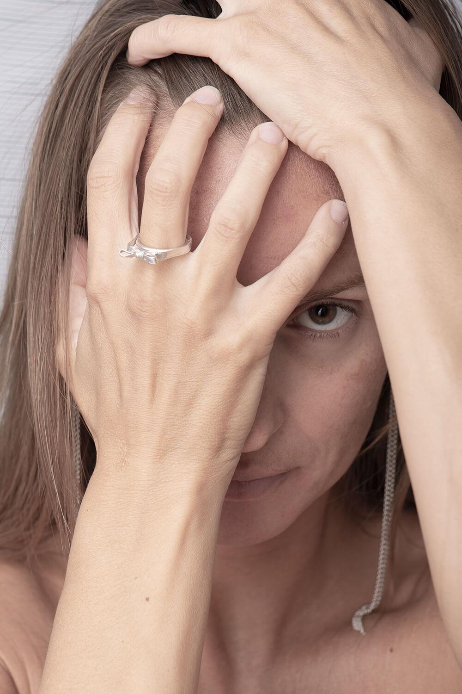 Unique handmade Present ring