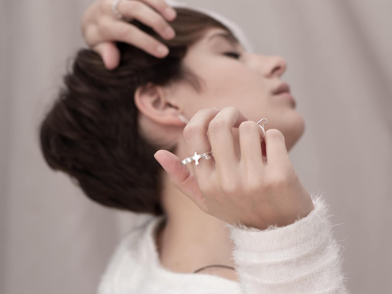 Amigo handmade silver ring